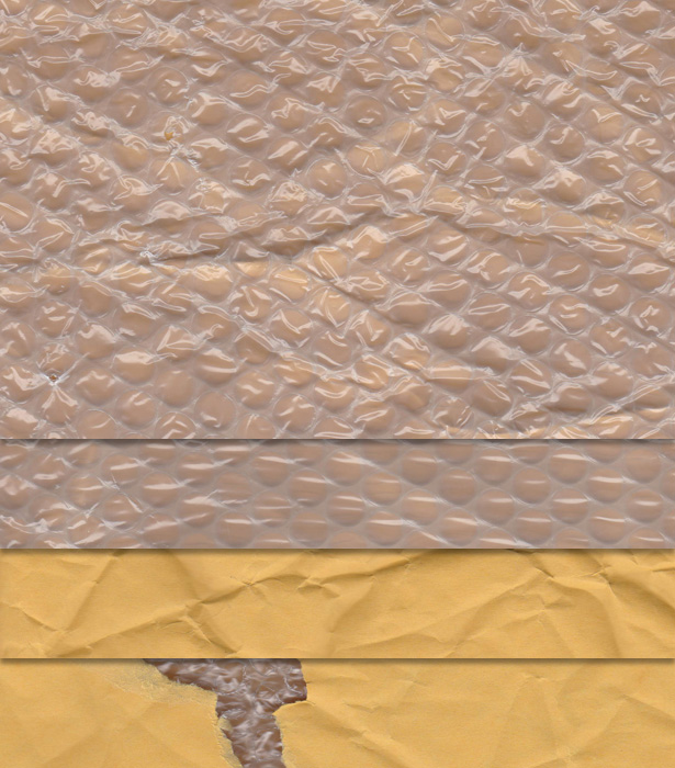 Padded Envelope Textures