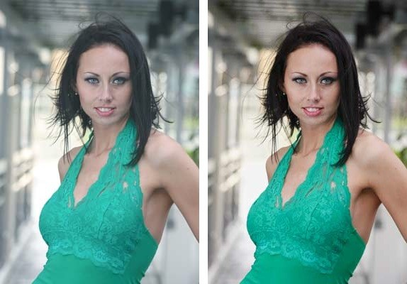 Color Correction with the Curves Eyedropper in Photoshop
