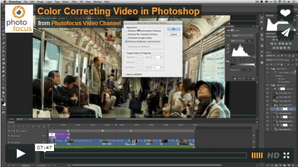 Color Correcting in Photoshop (video)