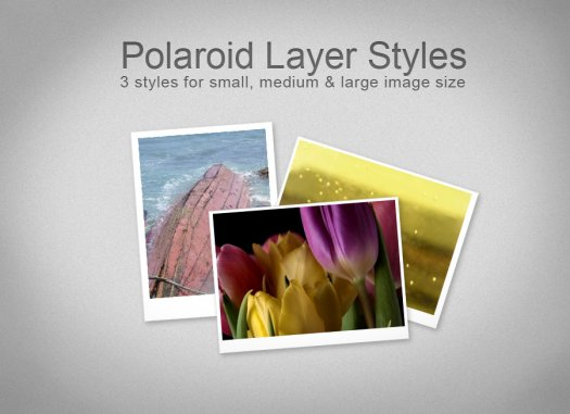 Polaroid Layer Styles