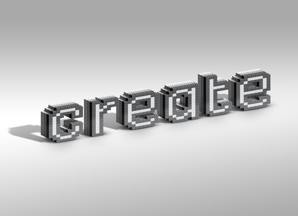 How to Create a Lego Inspired Text Effect in Adobe Photoshop