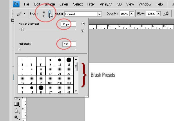 Photoshop's Brush Tool