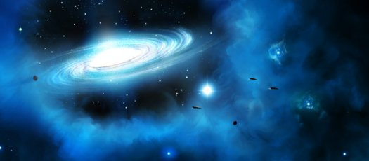 The Cosmos: Create a Spiral Galaxy