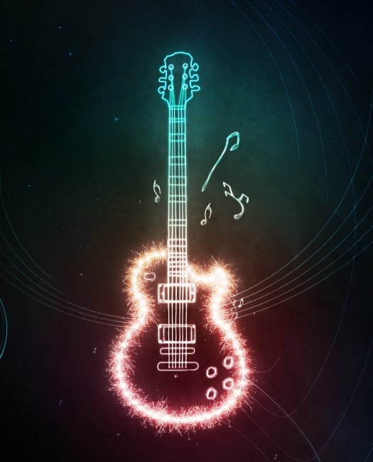 Create an Electrifying Light Guitar
