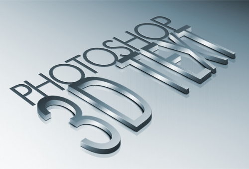 How to Create High-Quality Metal 3D Text in Photoshop