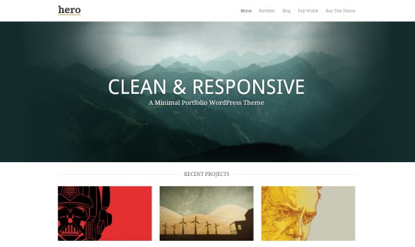 45 of the Best Responsive WordPress Portfolio Themes
