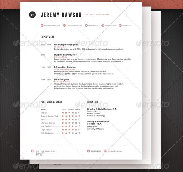 Stylish Resume