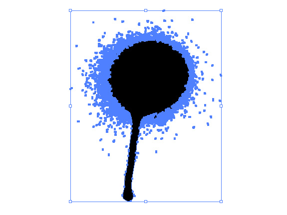 Create a Drippy Spray Paint Vector