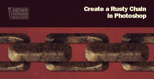 Create a Rusty Chain in Photoshop