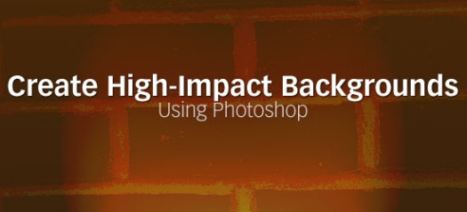Create High-Impact Backgrounds Using Photoshop