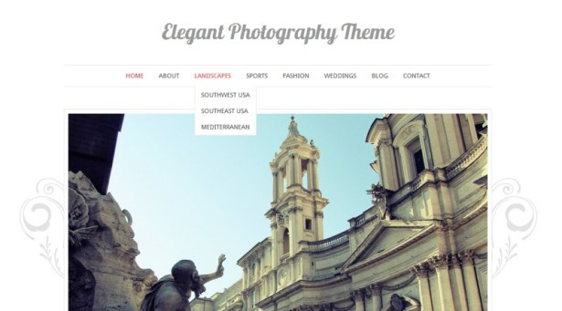 Documentation for Elegant Photography WordPress Theme