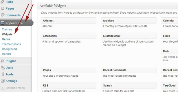 Theme Documentation - General WordPress Settings