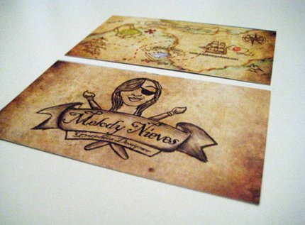 Pirate Treasure Card