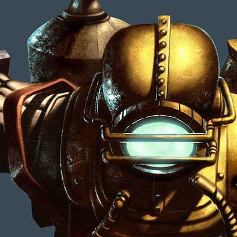 Bioshock Video Game Digital Painting