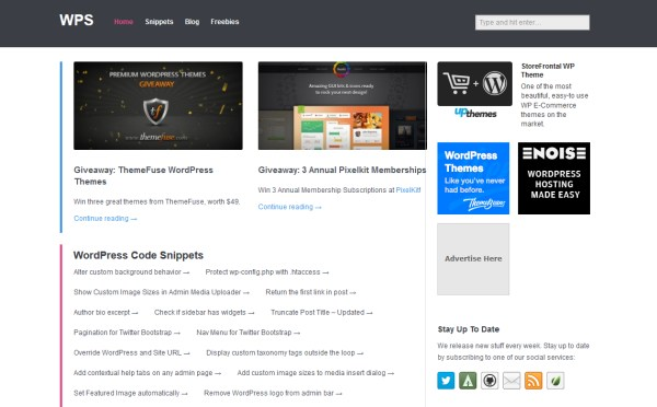 WP Snippets